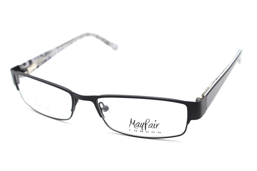 Mayfair London MAYF-A15 Eyeglasses in 004 Mt Black