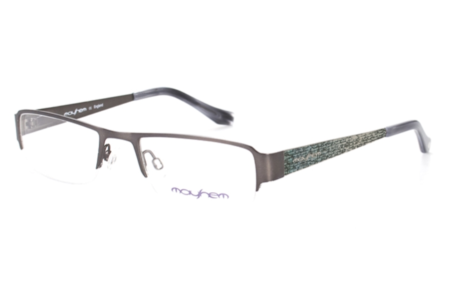 Mayhem MAYO-B02 Eyeglasses in 005 Gun/Bark