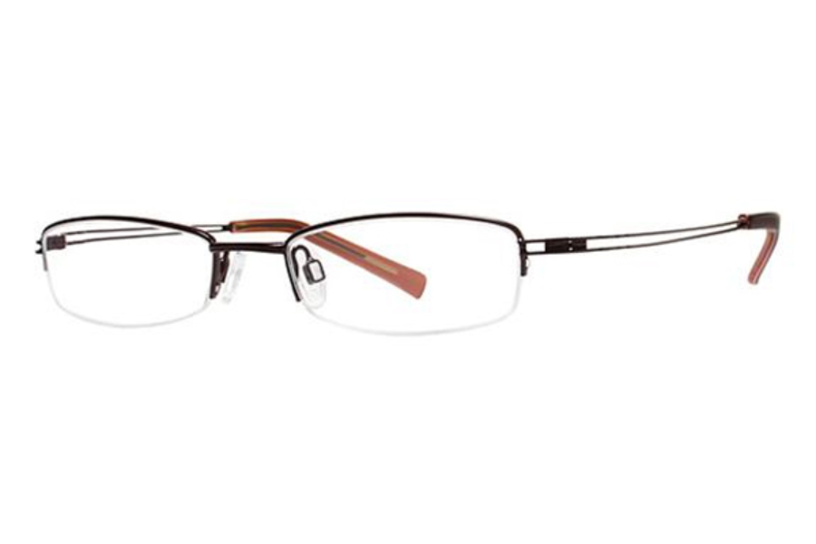 Modz Pisa Eyeglasses in Matte Burgundy