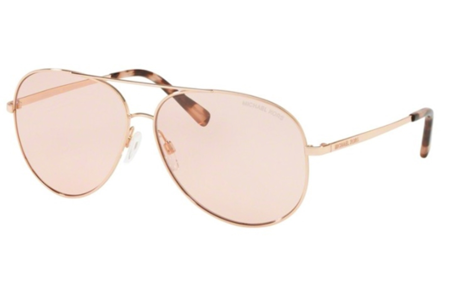 4856422f4d3bf ... Michael Kors MK5016 KENDALL Sunglasses in 1026 5 Shiny Rose Gold - Tone    Pink ...