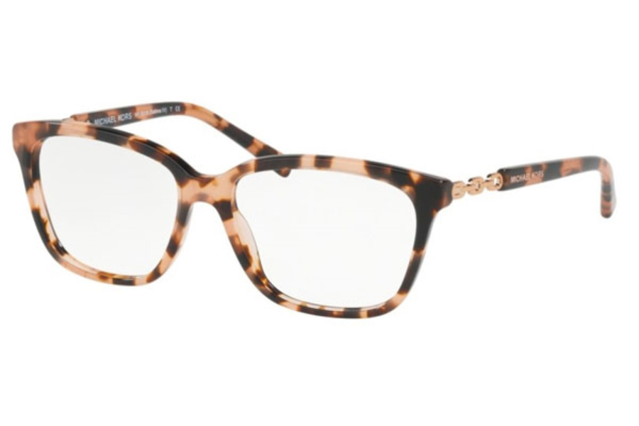 625396da89f Michael Kors MK8018 SABINA IV Eyeglasses in 3155 Peach Tortoise ...