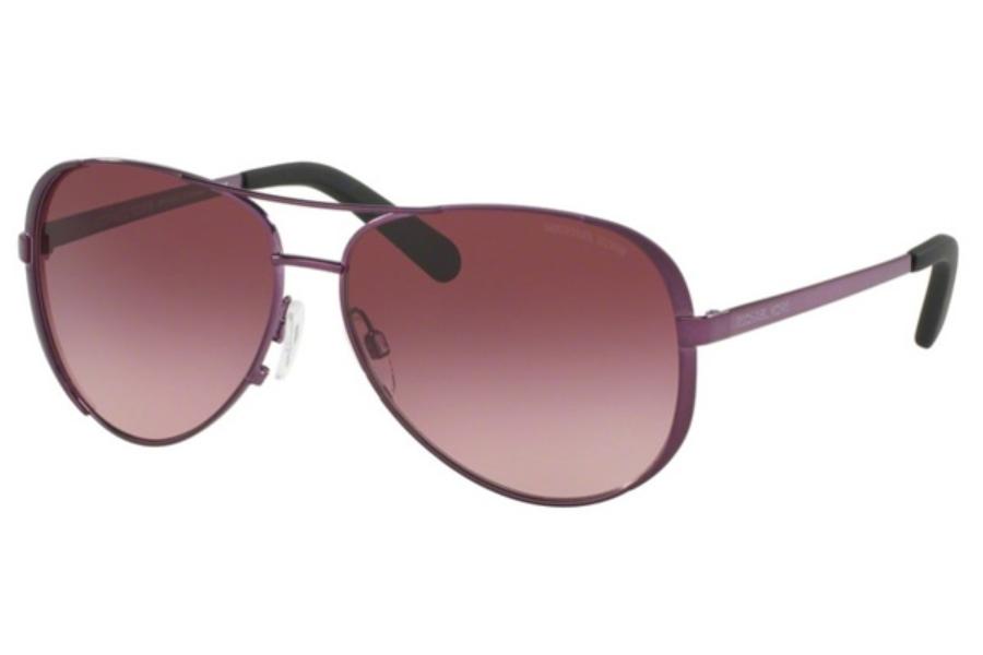 982c5488013d9 ... Michael Kors MK5004 CHELSEA Sunglasses in 11588H Plum   Burgundy  Gradient ...