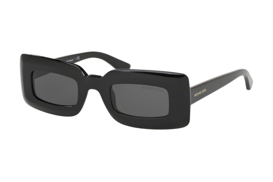 Michael Kors MK9034M ST. TROPEZ Sunglasses in 300587 Black w/Dark Grey Solid