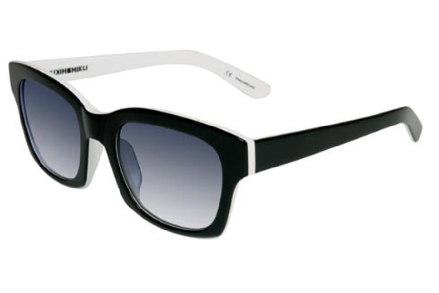 Mikli by Alain Mikli ML 1322 Sunglasses in C004-4310 Black on White
