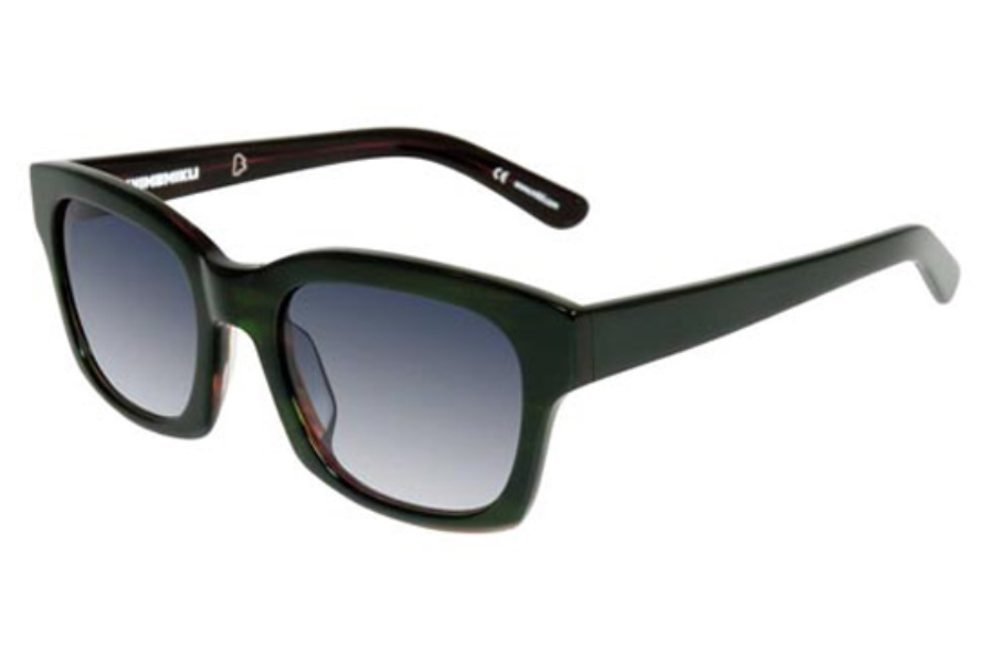 Mikli by Alain Mikli ML 1322 Sunglasses in C005-4310 Dark Green