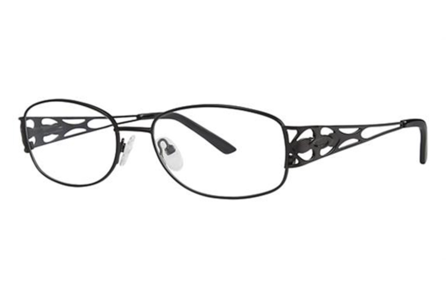 Modern Times Heartbeat Eyeglasses in Black