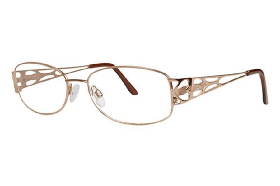 Modern Times Heartbeat Eyeglasses in Brown