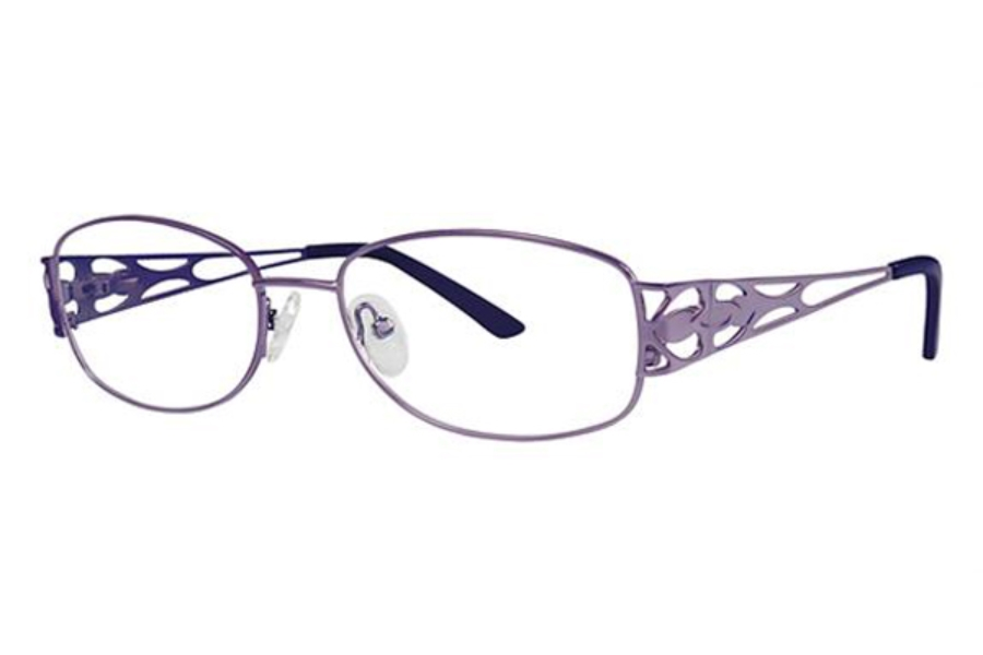 Modern Times Heartbeat Eyeglasses in Plum