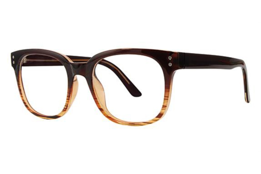 Modern Optical Legacy Eyeglasses in Brown Fade