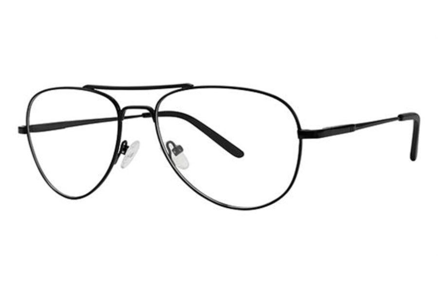 Modern Times Timely Eyeglasses in Matte Black