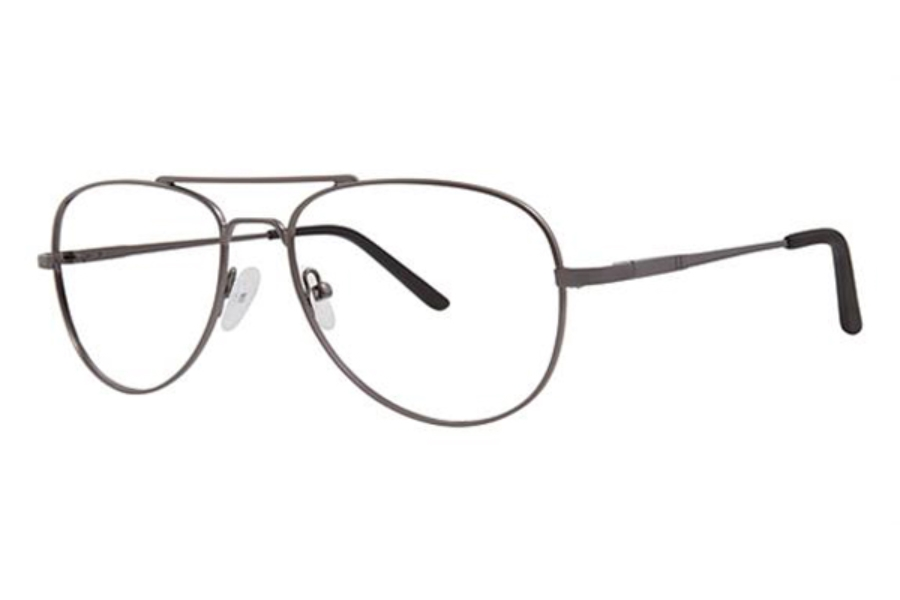 Modern Times Timely Eyeglasses in Matte Gunmetal