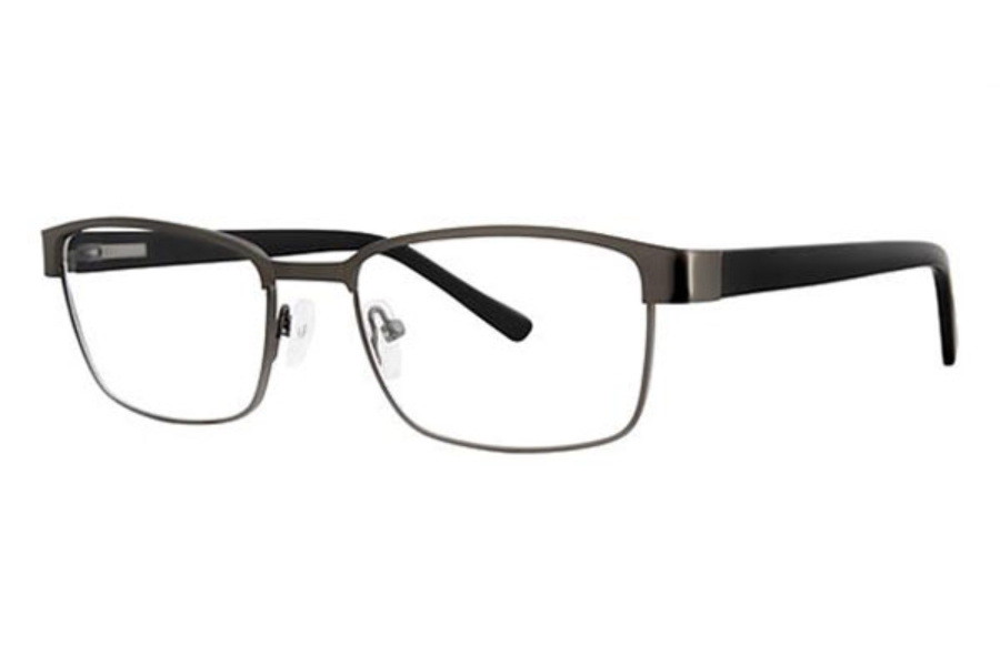 Modern Times Anchor Eyeglasses in Matte Gunmetal