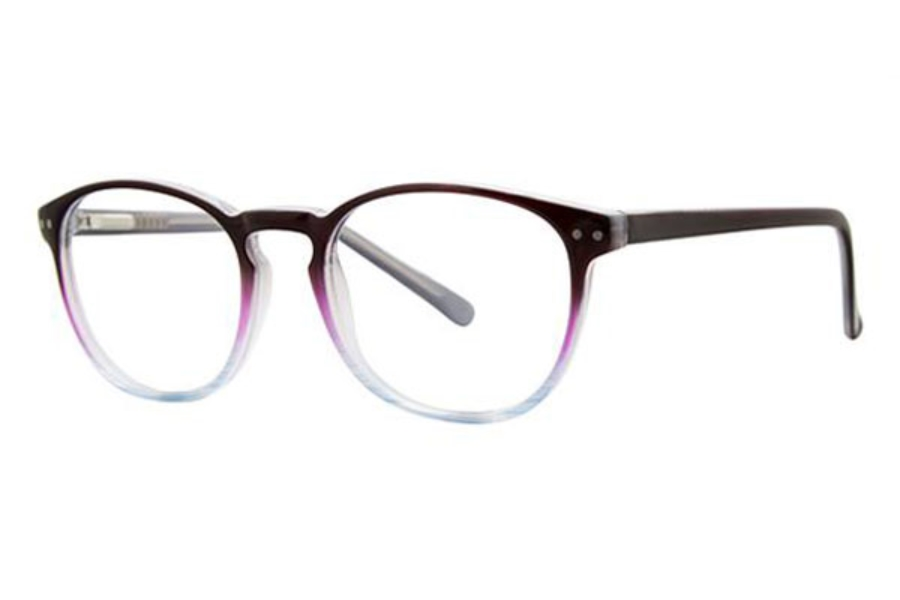 Modern Times Cadence Eyeglasses in Black/Purple/Blue