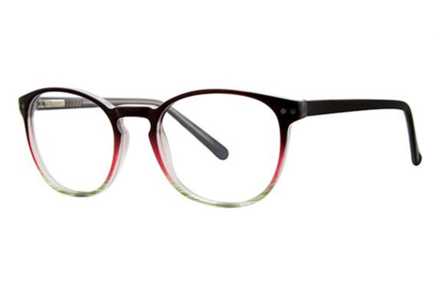 Modern Times Cadence Eyeglasses in Black/Rose/Mint