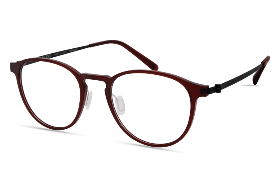 Modo MODO 7013 Global Fit Eyeglasses in Matte Burgundy