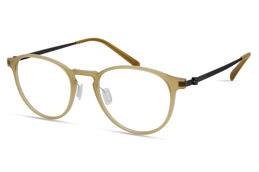 Modo MODO 7013 Global Fit Eyeglasses in Matte Honey
