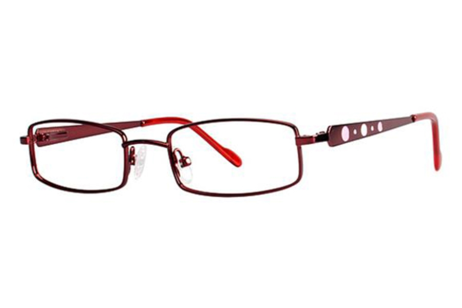 Modz Kids Ladybug Eyeglasses in Burgundy