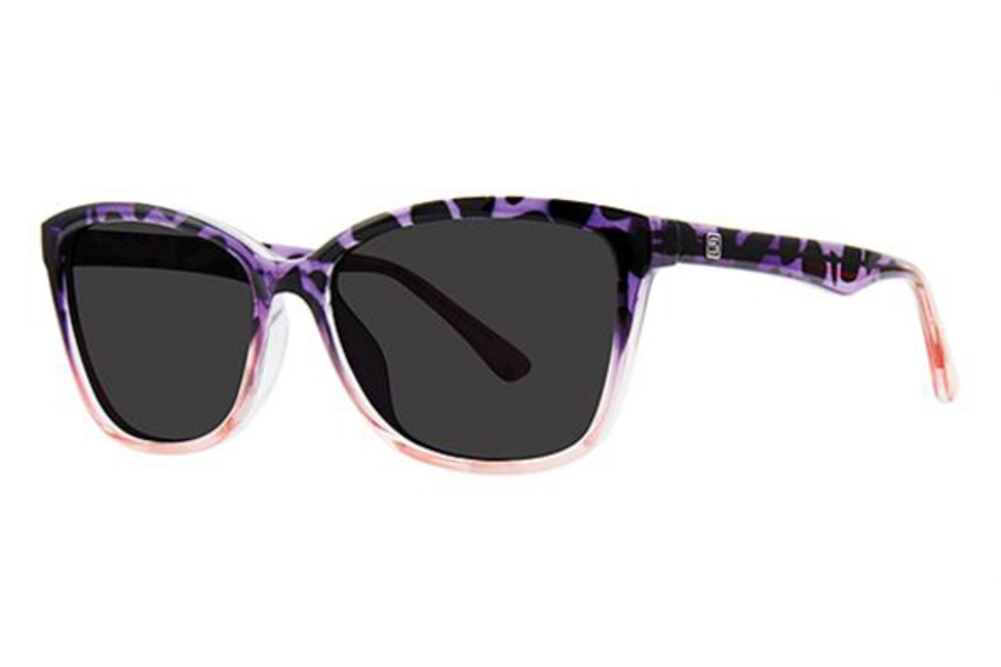 Modz Malibu Sunglasses in Blue Tortoise/Purple