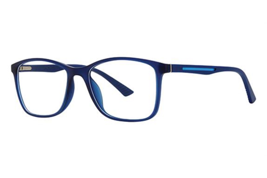 Modz Anaheim Eyeglasses in Navy/Blue Matte
