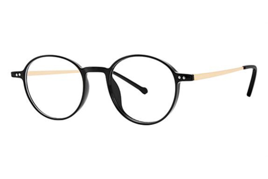 Modz Upton Eyeglasses in Black/Gold