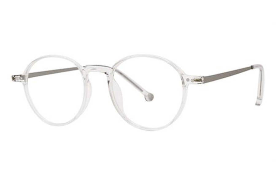 Modz Upton Eyeglasses in Crystal/Gunmetal