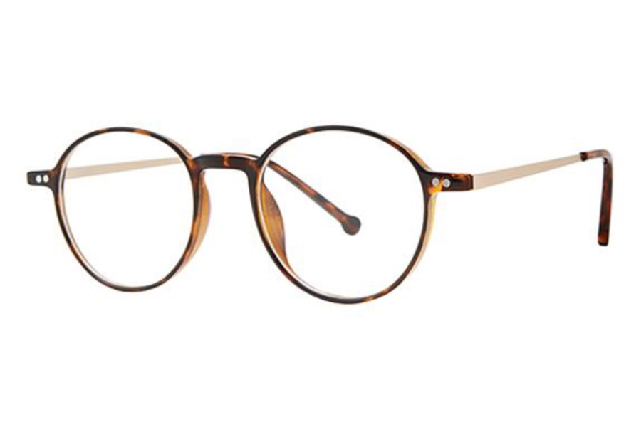 Modz Upton Eyeglasses in Tortoise/Gold