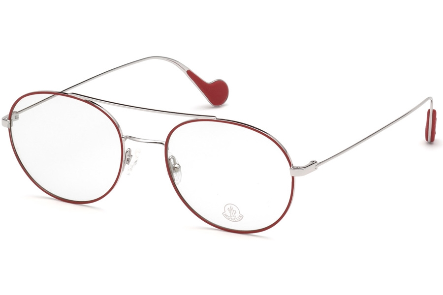 Moncler ML5046 Eyeglasses in 068 - Red/Other