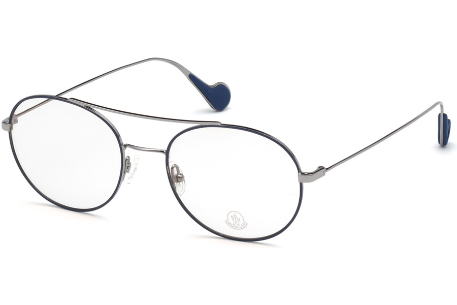Moncler ML5046 Eyeglasses in 092 - Blue/Other