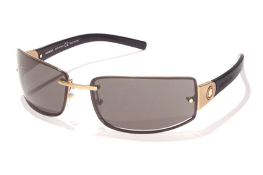 a00ab7e4050 ... Ruthenium w Black  Mont Blanc MB 81 S Sunglasses in Mont Blanc MB 81 S  Sunglasses ...