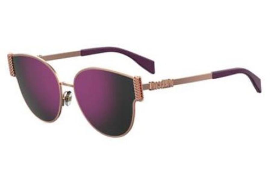 Sunglasses Moschino Mos 28 //F//S 006J Gold Havana//FQ gray sf gold sp lens