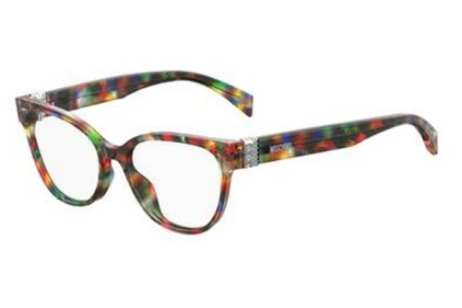 Moschino Mos 509 Eyeglasses in 0F74 Purple Blmkor