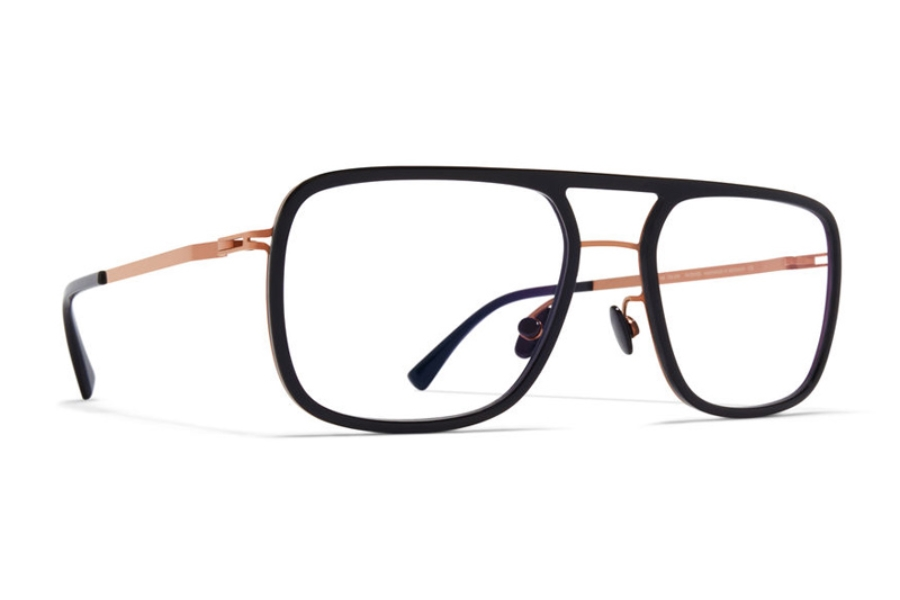 Mykita Elgard Eyeglasses in A37 Shiny Copper/Black