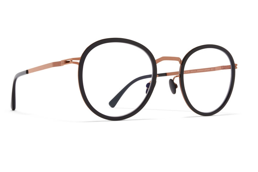 Mykita Tuva Eyeglasses in A37 Shiny Copper/Black