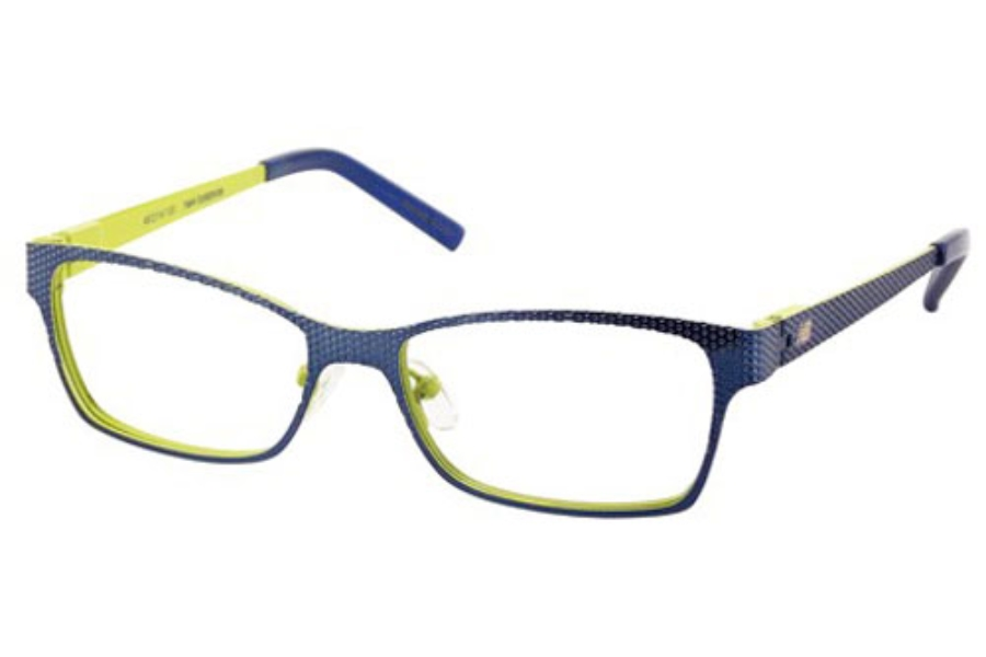 New Balance Kids NBK 105 Eyeglasses in Navy