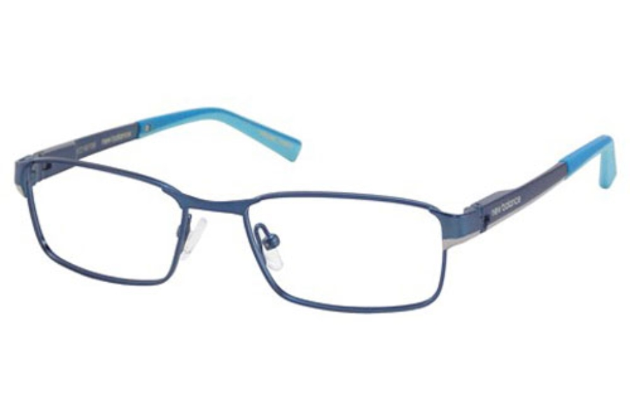 New Balance Kids NBK 110 Eyeglasses in Blue