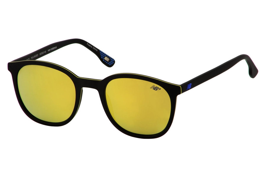 New Balance NB 6044 Sunglasses in Blackyellow