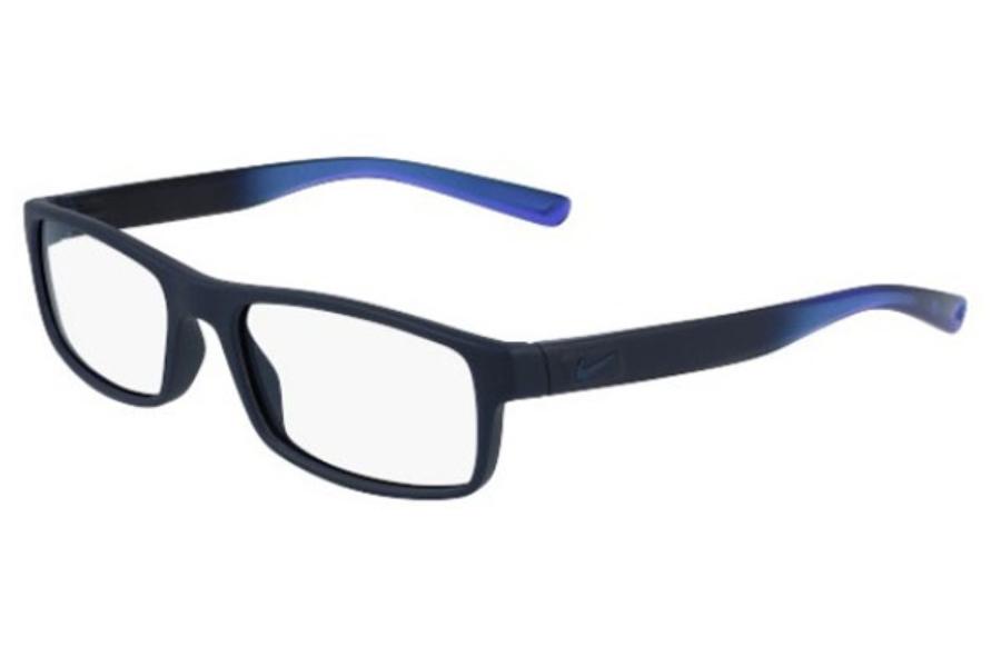 df9a0d1991e Nike NIKE 7090 Eyeglasses in 413 Matte Obsidian Fade ...