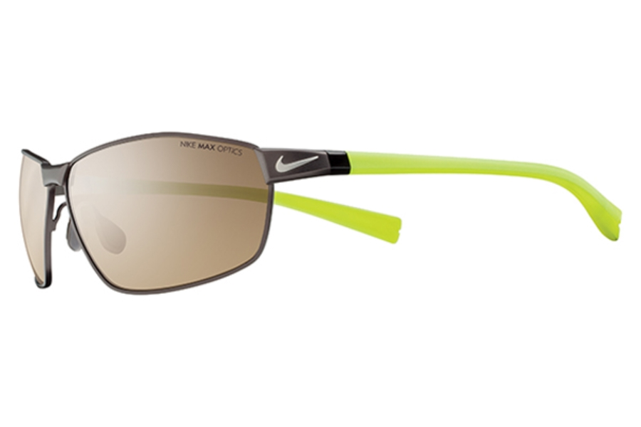 Nike Stride EV0708 Walnut Mens Sunglasses