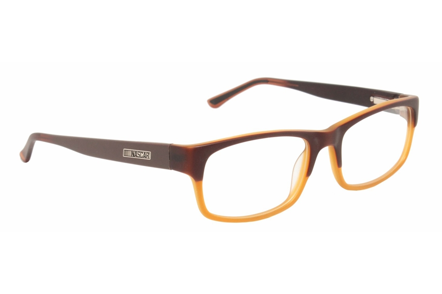 Nascar NCO-N07 Eyeglasses in 103 Fl Brown