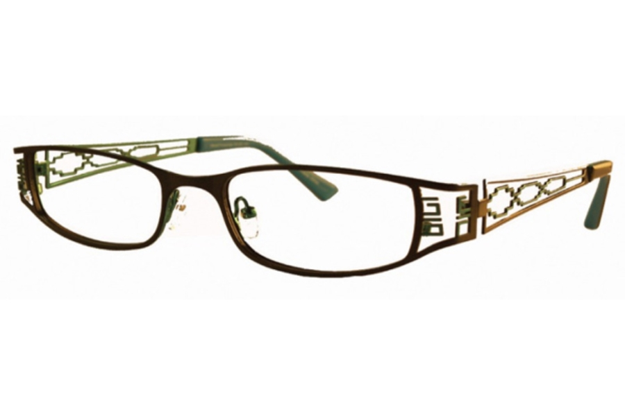 Native Pride Spirit Eyeglasses in Brown/Gold