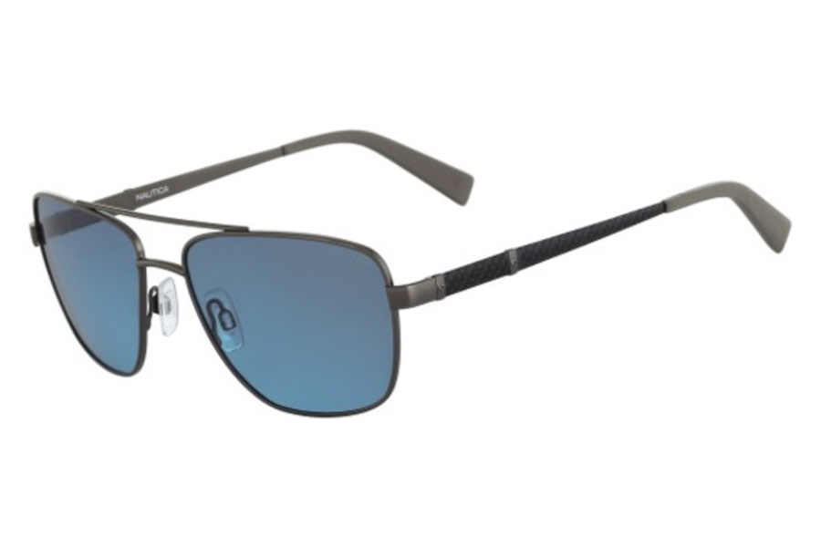 Nautica N5117S Sunglasses in 042 Matte Gunmetal