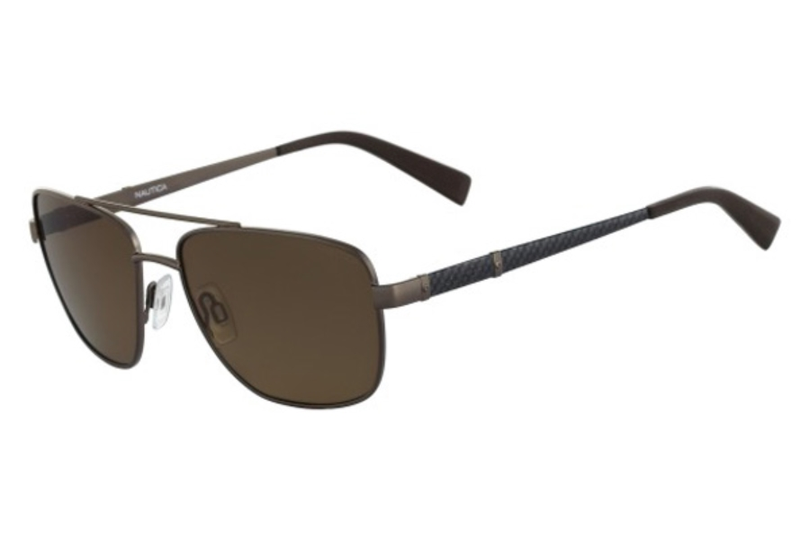 Nautica N5117S Sunglasses in 200 Matte Brown