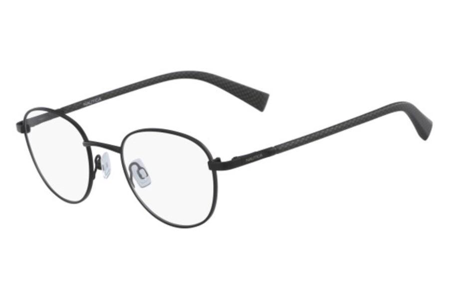 Nautica N7282 Eyeglasses in 005 Matte Black
