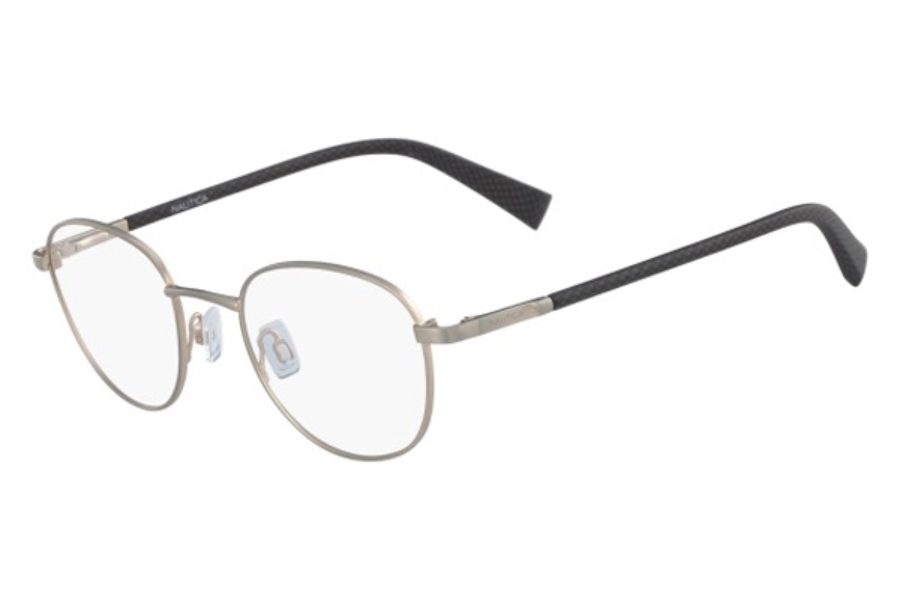 Nautica N7282 Eyeglasses in 720 Matte Antique Gold