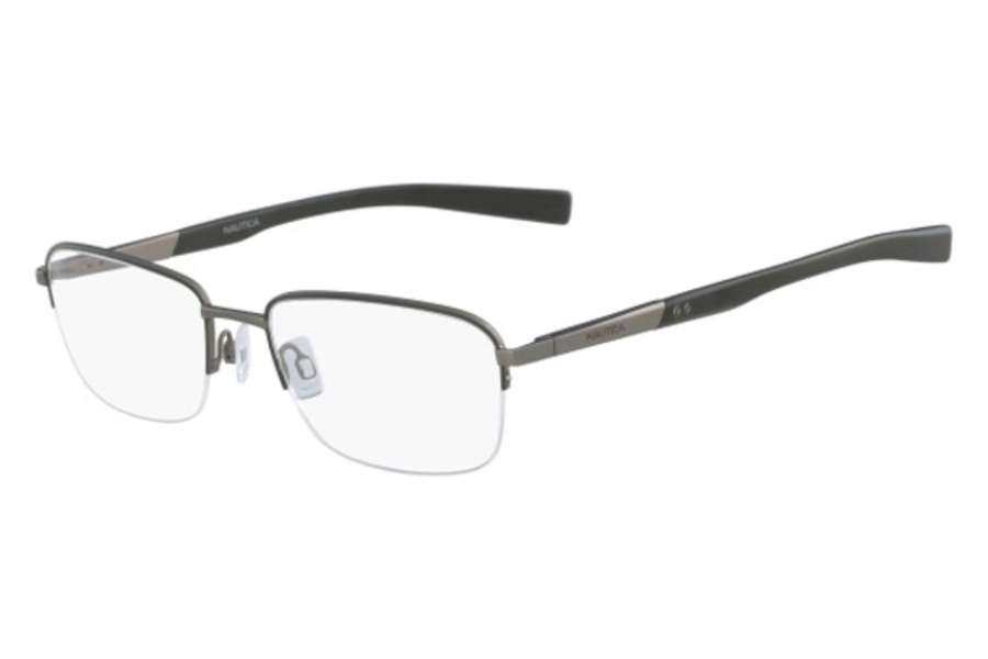 Nautica N7283 Eyeglasses in 325 Matte Olive (Discontinued)