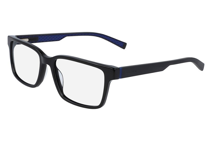 Nautica N8156 Eyeglasses in 001 Black