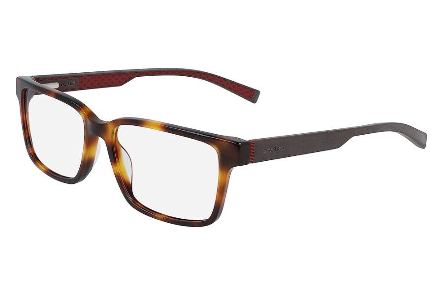 Nautica N8156 Eyeglasses in 260 Soft Tortoise