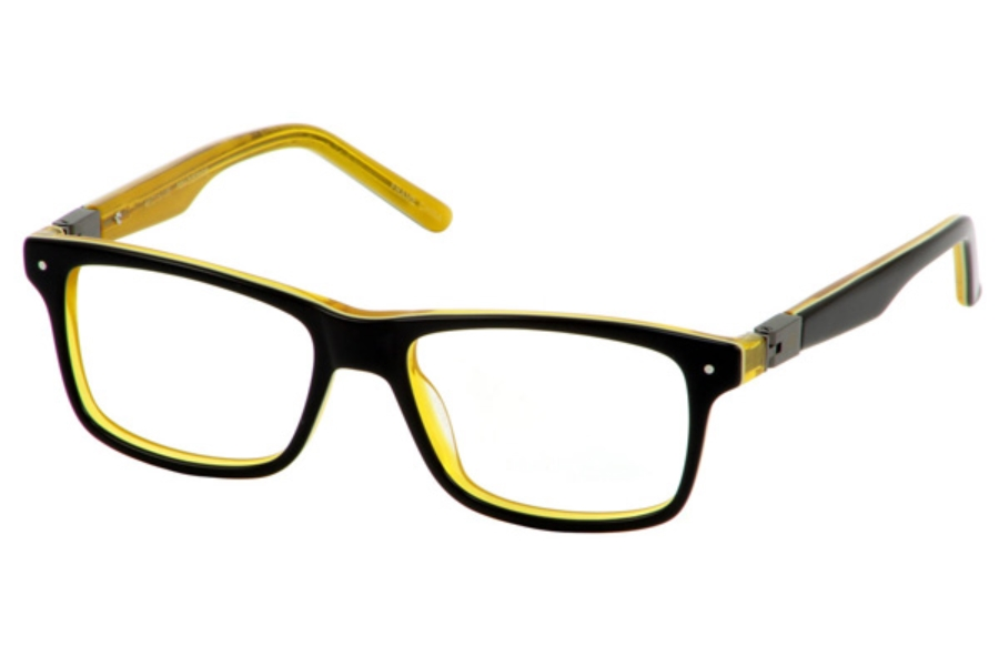 New Balance Kids NBK 135 Eyeglasses in Black