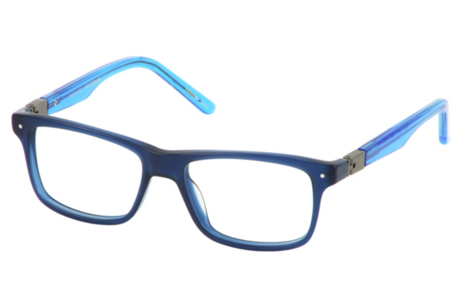 New Balance Kids NBK 135 Eyeglasses in Navy