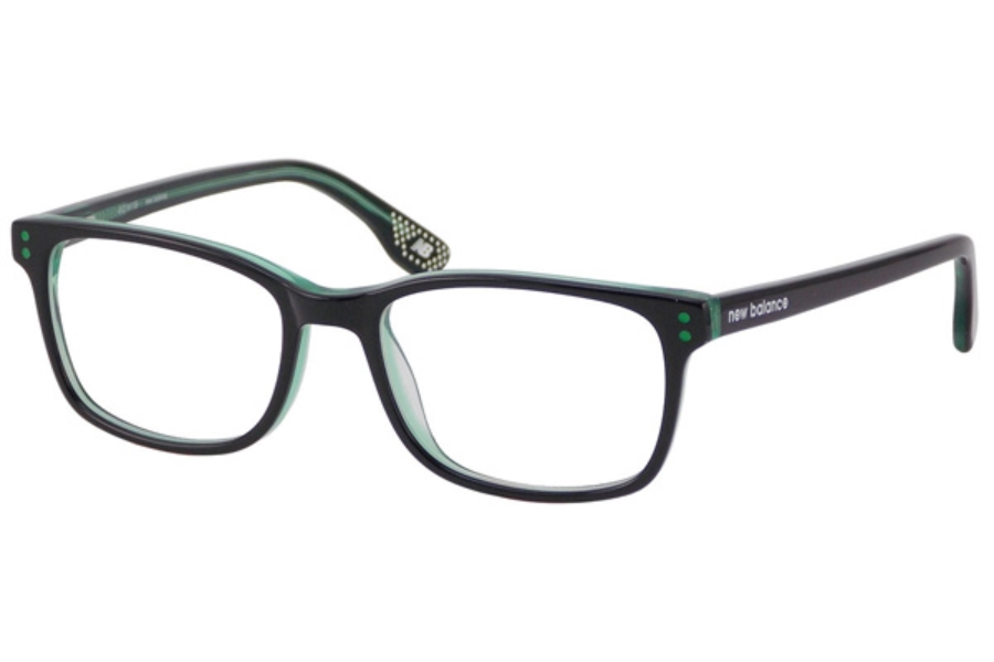 New Balance Kids NBK 128 Eyeglasses in Black